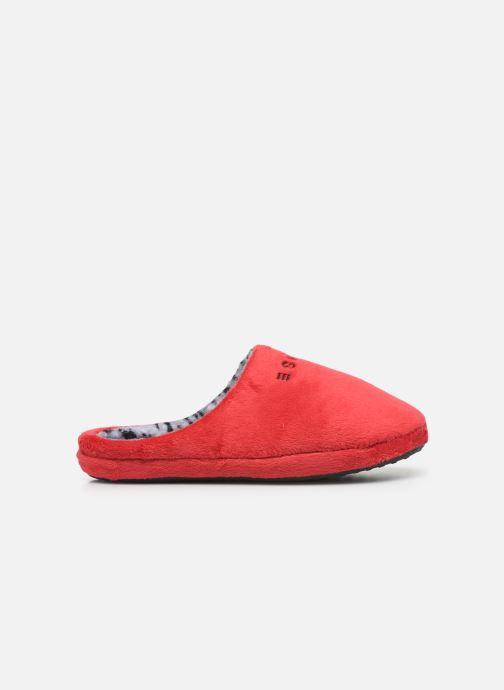 Pantuflas Esprit 109EK1W026 Rojo vistra trasera