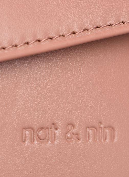 Sacs pochettes Nat & Nin Gaia Rose vue gauche