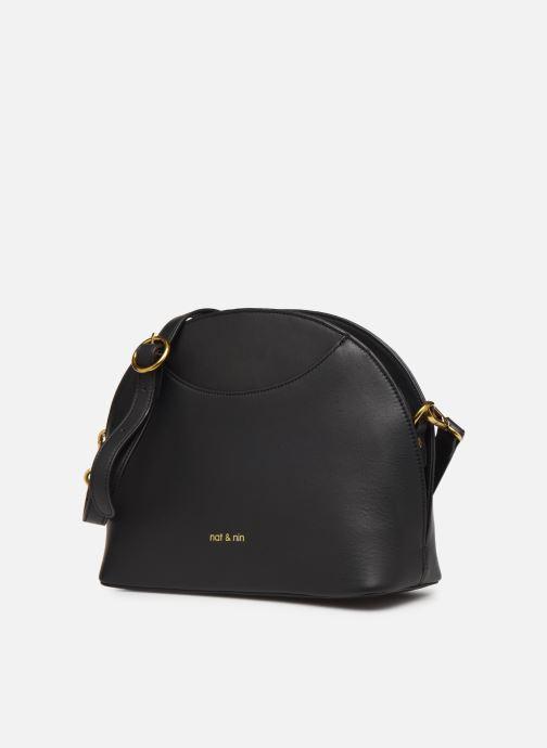 Handtaschen Nat & Nin Appoline schwarz schuhe getragen