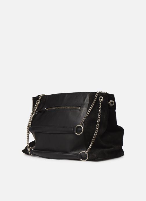 Handtaschen Nat & Nin Hortense schwarz ansicht von rechts