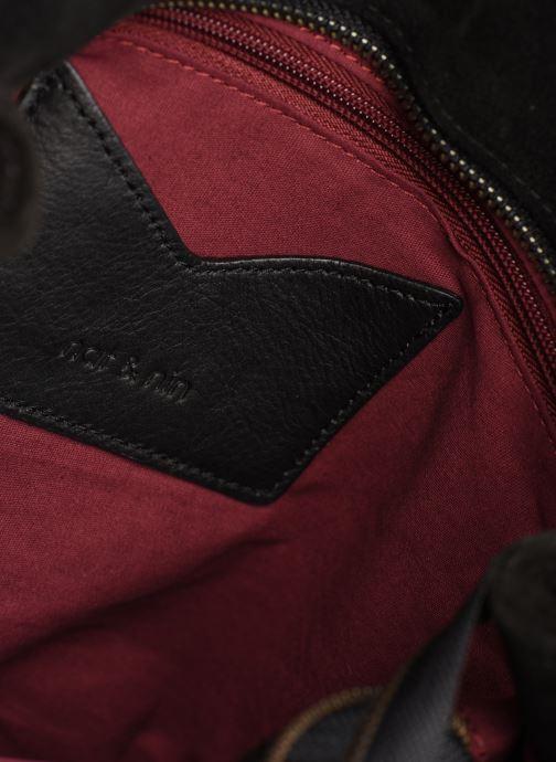 Handtassen Nat & Nin Hortense Zwart achterkant