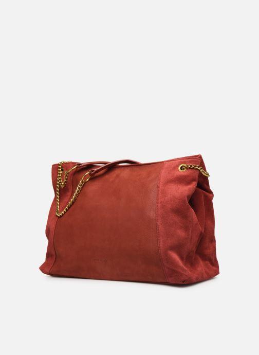 Bolsos de mano Nat & Nin Hortense Rojo vista del modelo