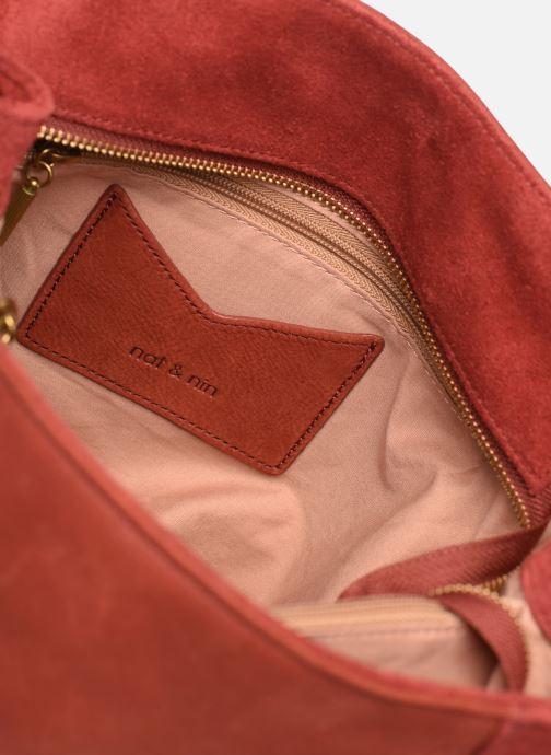 Handtassen Nat & Nin Hortense Rood achterkant