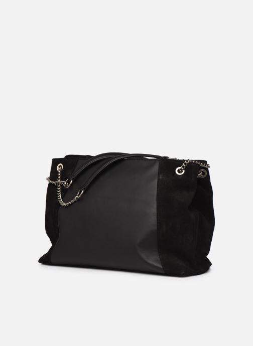 Handtaschen Nat & Nin Hortense schwarz schuhe getragen