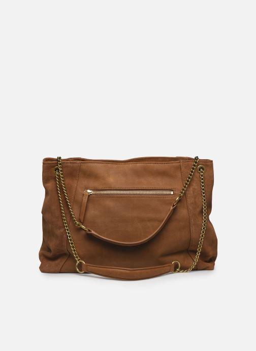 Handtaschen Nat & Nin Hortense braun ansicht von vorne