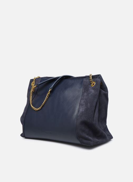 Handtaschen Nat & Nin Hortense blau schuhe getragen