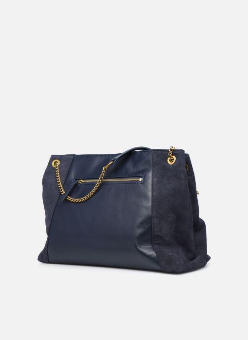 Handtaschen Nat & Nin Hortense blau ansicht von rechts