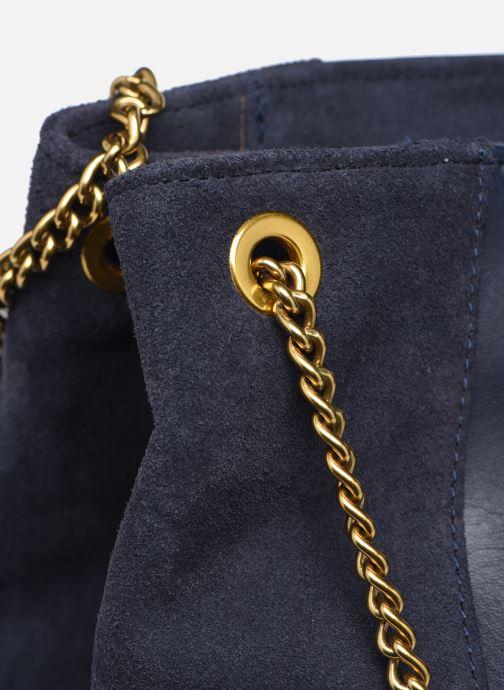 Handtaschen Nat & Nin Hortense blau ansicht von links