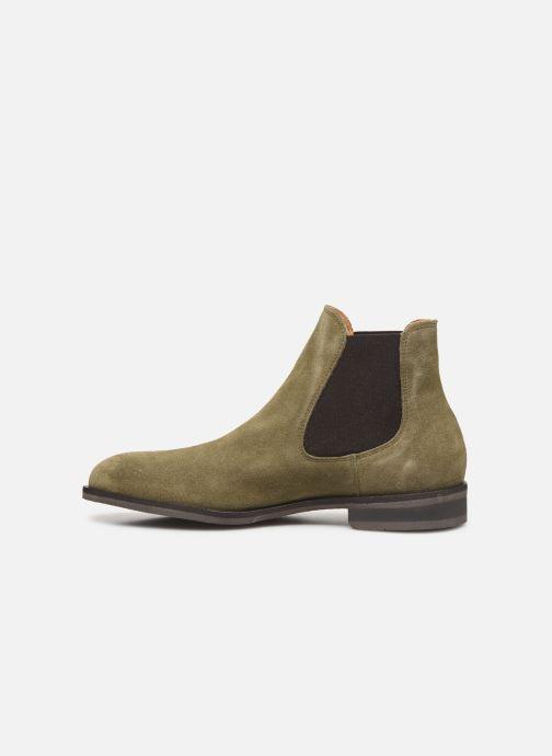Stiefeletten & Boots Selected Homme SLHLOUIS SUEDE CHELSEA BOOT B grün ansicht von vorne