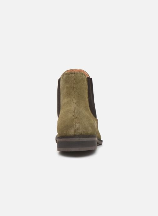Ankle boots Selected Homme SLHLOUIS SUEDE CHELSEA BOOT B Green view from the right