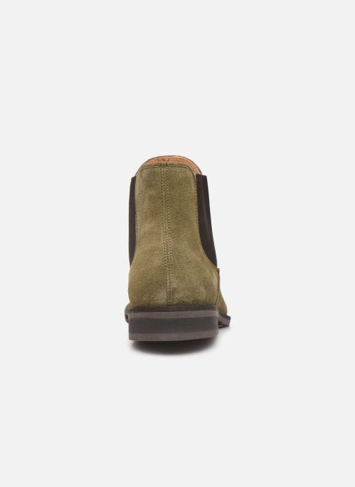 Stiefeletten & Boots Selected Homme SLHLOUIS SUEDE CHELSEA BOOT B grün ansicht von rechts