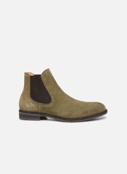Stiefeletten & Boots Selected Homme SLHLOUIS SUEDE CHELSEA BOOT B grün ansicht von hinten