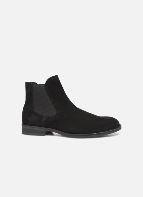 Ankle boots Selected Homme SLHLOUIS SUEDE CHELSEA BOOT B Black back view