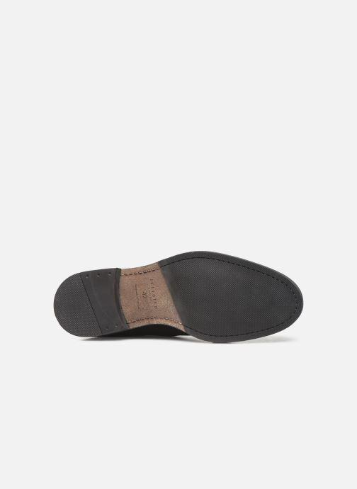 Bottines et boots Selected Homme SLHLOUIS SUEDE CHELSEA BOOT B Noir vue haut