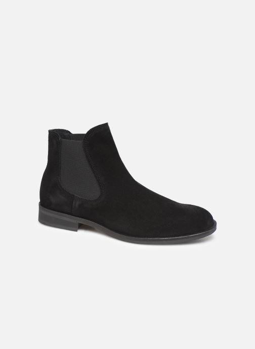 Bottines et boots Selected Homme SLHLOUIS SUEDE CHELSEA BOOT B Noir vue détail/paire