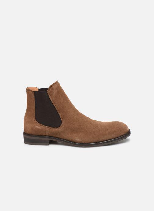 Bottines et boots Selected Homme SLHLOUIS SUEDE CHELSEA BOOT B Marron vue derrière