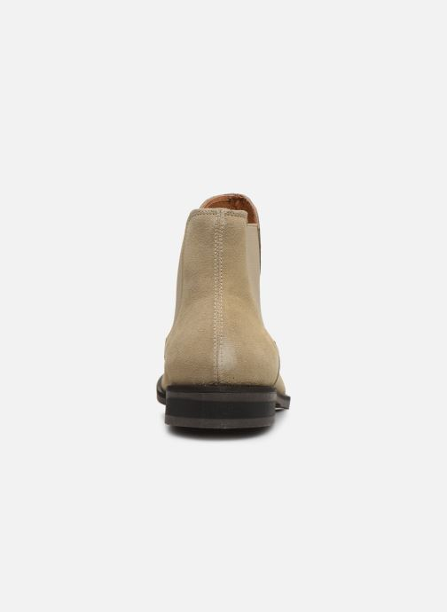 Botines  Selected Homme SLHLOUIS SUEDE CHELSEA BOOT B Marrón vista lateral derecha