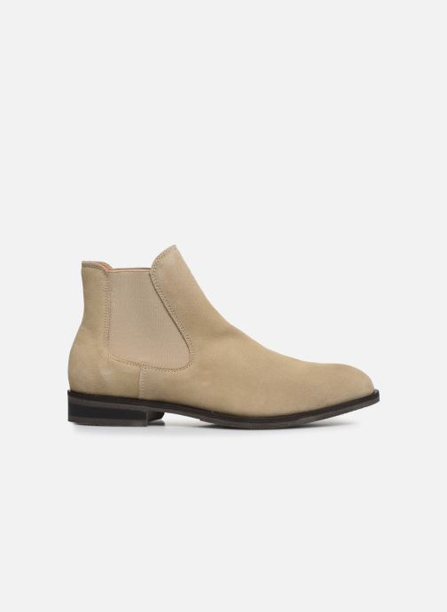 Ankle boots Selected Homme SLHLOUIS SUEDE CHELSEA BOOT B Brown back view
