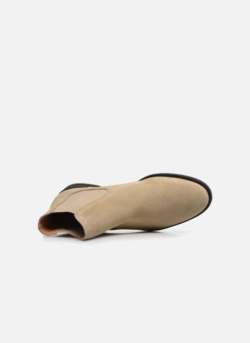 Stiefeletten & Boots Selected Homme SLHLOUIS SUEDE CHELSEA BOOT B braun ansicht von links