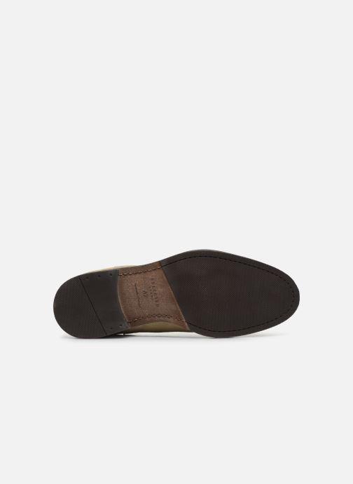 Stiefeletten & Boots Selected Homme SLHLOUIS SUEDE CHELSEA BOOT B braun ansicht von oben