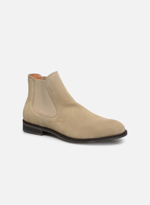 Ankle boots Selected Homme SLHLOUIS SUEDE CHELSEA BOOT B Brown detailed view/ Pair view