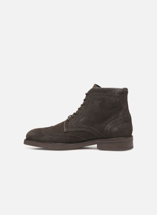 Bottines et boots Selected Homme SLHFILIP SUEDE BROGUE BOOT B Marron vue face