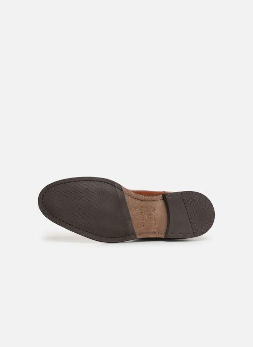 Boots en enkellaarsjes Selected Homme SLHLOUIS LEATHER CHELSEA BOOT B NOOS Bruin boven