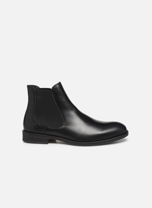 Botines  Selected Homme SLHLOUIS LEATHER CHELSEA BOOT B NOOS Negro vistra trasera