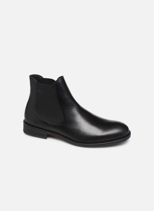 Bottines et boots Selected Homme SLHLOUIS LEATHER CHELSEA BOOT B NOOS Noir vue détail/paire