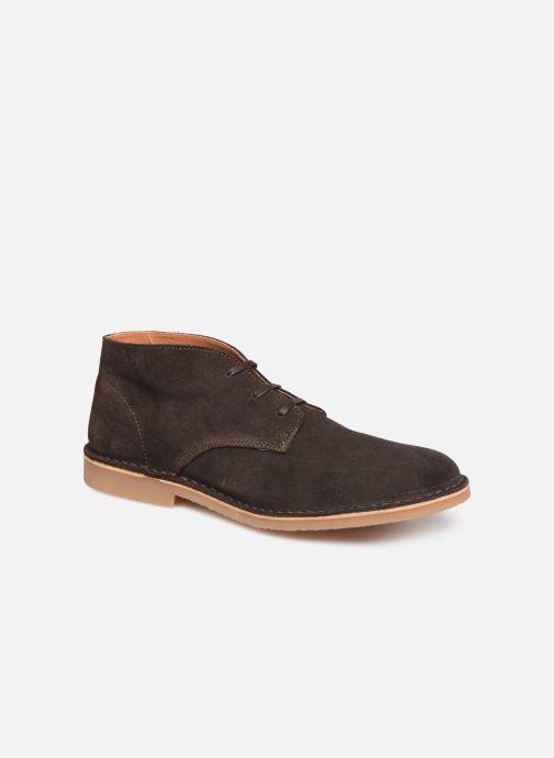 Stiefeletten & Boots Selected Homme SLHROYCE DESERT LIGHT SUEDE BOOT W NOOS braun detaillierte ansicht/modell