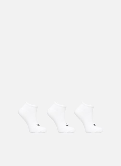 Chaussettes et collants adidas originals TREFOIL LINER Lot de 3 Blanc vue détail/paire