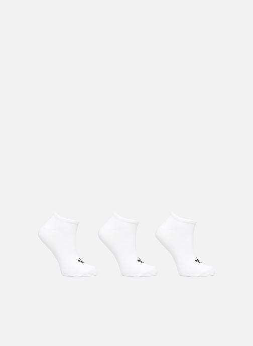 Strømper og tights adidas originals TREFOIL LINER Lot de 3 Hvid detaljeret billede af skoene