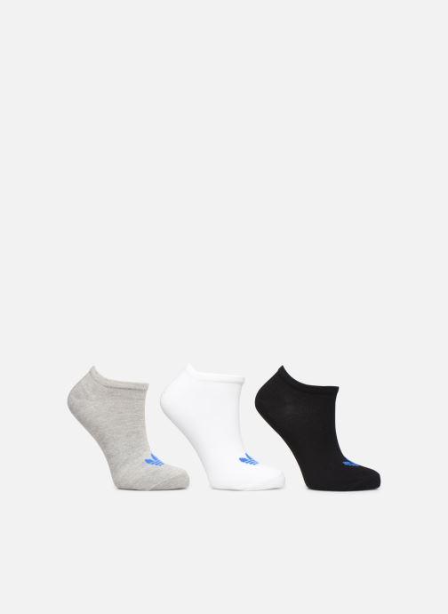 Chaussettes et collants adidas originals TREFOIL LINER Lot de 3 Gris vue détail/paire