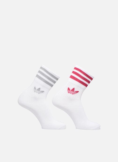 Strømper og tights adidas originals MID CUT GLT SCK Hvid detaljeret billede af skoene