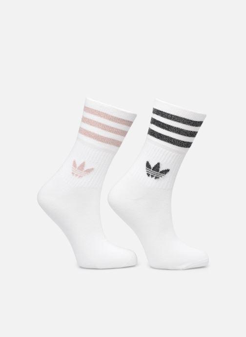 Socken & Strumpfhosen adidas originals MID CUT GLT SCK weiß detaillierte ansicht/modell