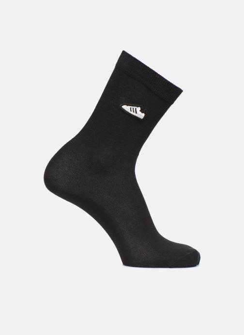 Strømper og tights adidas originals SUPER SOCK Sort detaljeret billede af skoene