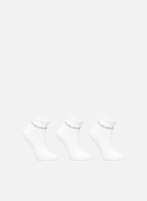 Chaussettes et collants Reebok ACT CORE ANKLE SOCK 3P Blanc vue détail/paire