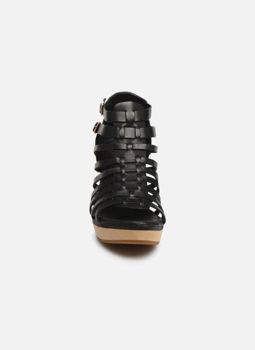 Sandales et nu-pieds Flipflop kambhu Noir vue portées chaussures