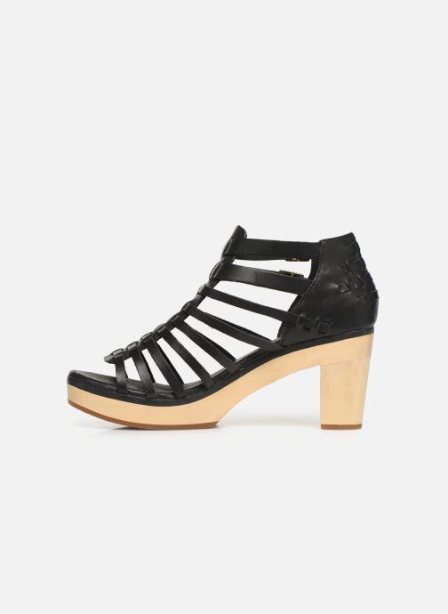 Sandales et nu-pieds Flipflop kambhu Noir vue face