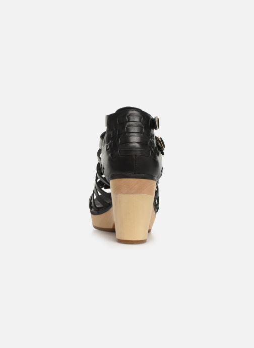 Sandales et nu-pieds Flipflop kambhu Noir vue droite