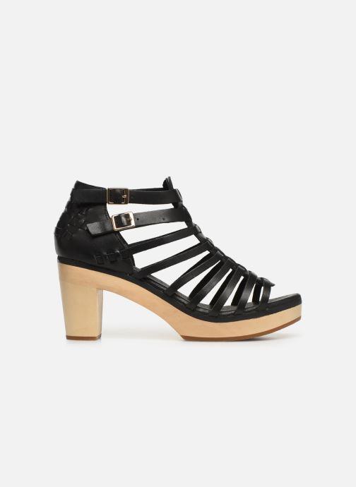 Sandales et nu-pieds Flipflop kambhu Noir vue derrière