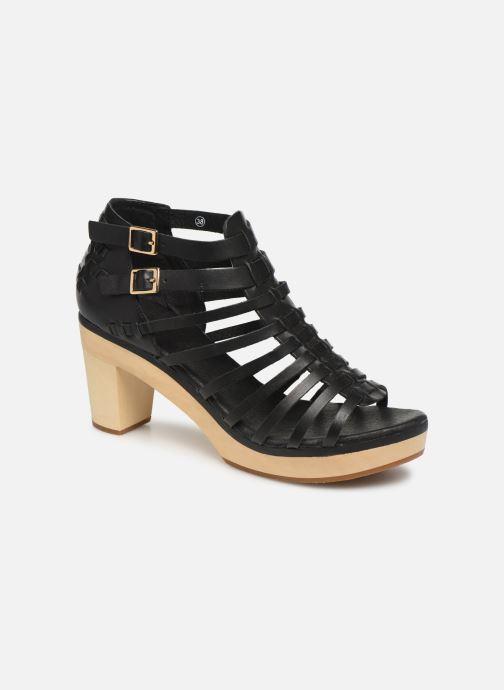 Sandales et nu-pieds Flipflop kambhu Noir vue détail/paire