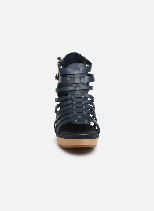Sandales et nu-pieds Flipflop kambhu Bleu vue portées chaussures