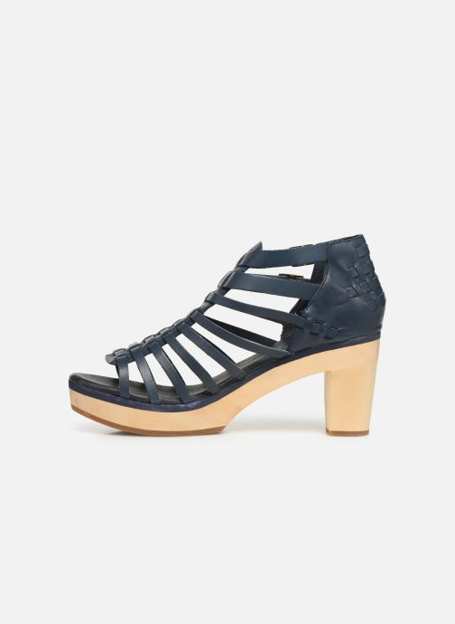 Sandales et nu-pieds Flipflop kambhu Bleu vue face