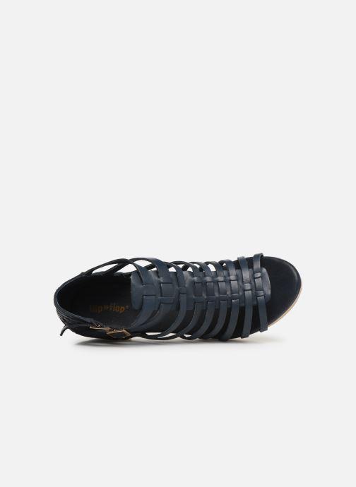 Sandales et nu-pieds Flipflop kambhu Bleu vue gauche