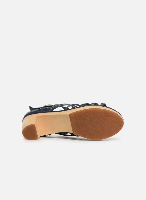 Sandales et nu-pieds Flipflop kambhu Bleu vue haut