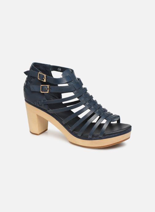 Sandales et nu-pieds Flipflop kambhu Bleu vue détail/paire