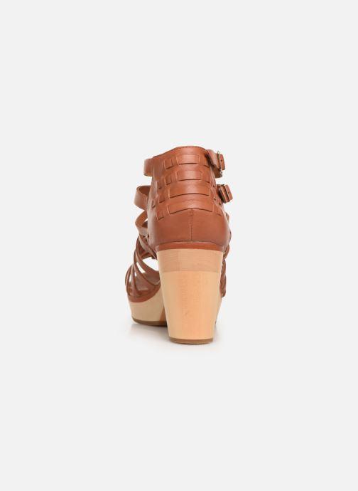 Sandales et nu-pieds Flipflop kambhu Marron vue droite