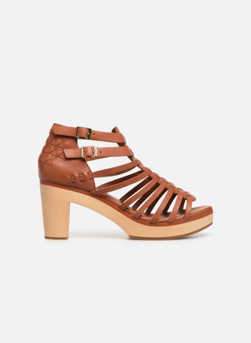 Sandali e scarpe aperte Flipflop kambhu Marrone immagine posteriore