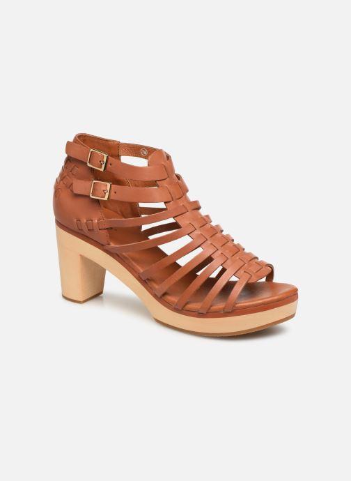 Sandales et nu-pieds Flipflop kambhu Marron vue détail/paire